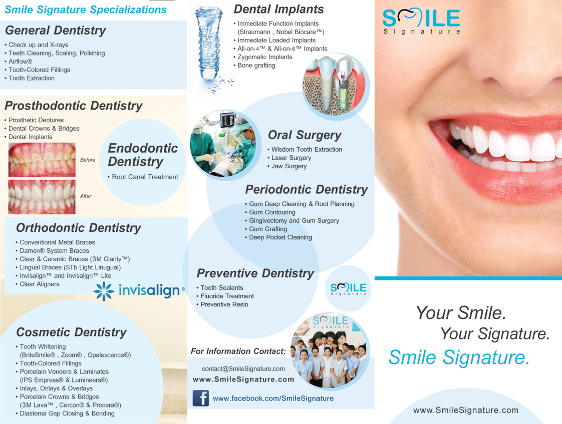 Dental Implant Quotes Smile Signature Brochure